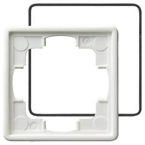 025140 Рамка одинарная с уплотнительной вставкой