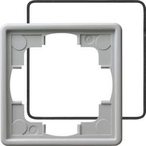 025142 Рамка одинарная с уплотнительной вставкой