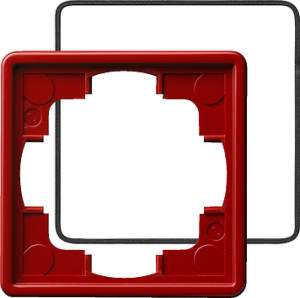 025143 Рамка одинарная с уплотнительной вставкой