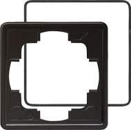 025147 Рамка одинарная с уплотнительной вставкой