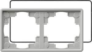 025242 Рамка двойная с уплотнительной вставкой