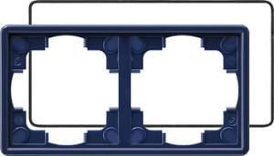 025246 Рамка двойная с уплотнительной вставкой