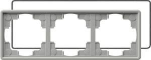 025342 Рамка тройная с уплотнительной вставкой
