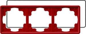 025343 Рамка тройная с уплотнительной вставкой