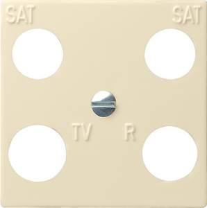 025801 Панель 50*50 мм для 4 канальной антенной розетки EVU 02/F (Hirschmann)