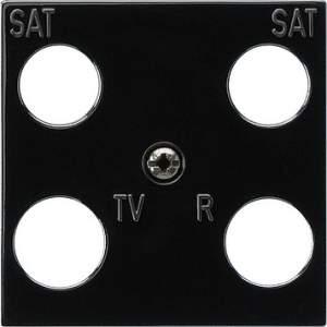 025810 Панель 50*50 мм для 4 канальной антенной розетки EVU 02/F (Hirschmann)