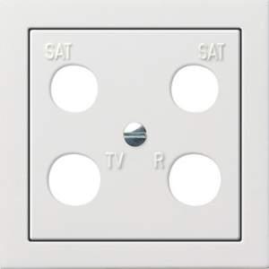 0258112 Панель 50*50 мм для 4 канальной антенной розетки EVU 02/F (Hirschmann)
