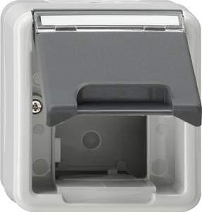 026230 Корпус с крышкой для приборов подключения вычислительной техники