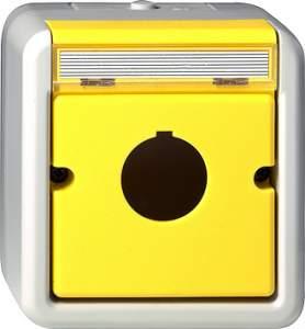 027130 Корпус с полем для надписи для приема сообщающих и командных аппаратов (22.5 мм)
