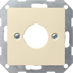 027201 Накладка с опорным кольцом для установки устр-в управления и оповещения с ? 22,5 мм