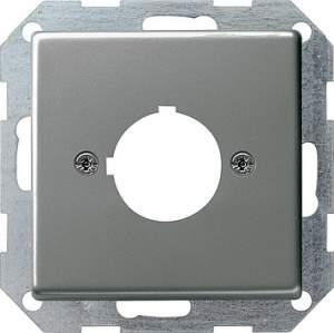 027220 Накладка с опорным кольцом для установки устр-в управления и оповещения с ? 22,5 мм