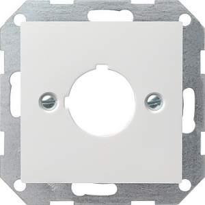 027227 Накладка с опорным кольцом для установки устр-в управления и оповещения с ? 22,5 мм