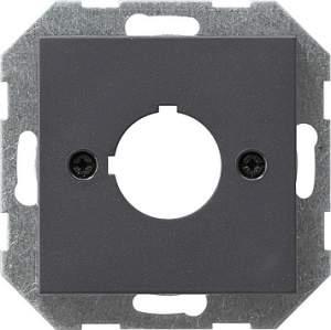 027228 Накладка с опорным кольцом для установки устр-в управления и оповещения с ? 22,5 мм