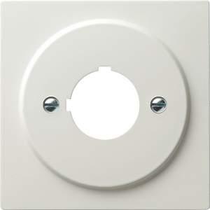 027240 Накладка с опорным кольцом для установки устр-в управления и оповещения с ? 22,5 мм