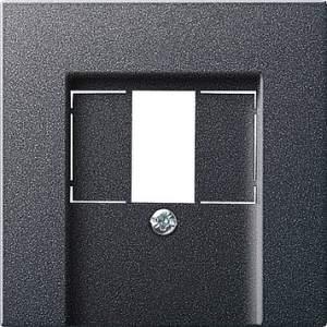 027628 Накладка телефонной розетки TAE+Стерео+USB