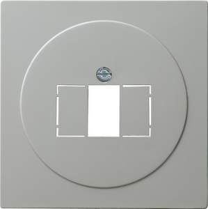 027642 Накладка телефонной розетки TAE+Стерео+USB