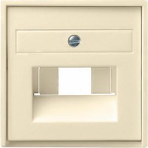 0284111 Накладка 50*50 мм для розеток UAE/IAE с полем для надписи