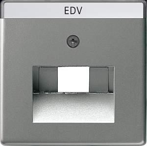 028420 Накладка 50*50 мм для розеток UAE/IAE с полем для надписи