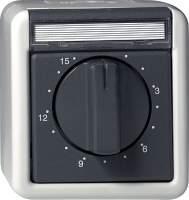 032030 Таймер 2-полюсный с полем для надписи 15 минут