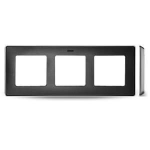 8201630-240 82 Detail Рамка, 3 поста, графит, основание алюминий