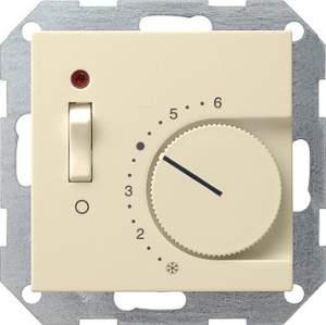 039201 Терморегулятор с размыкающим контактом. выключателем и контрольной лампой