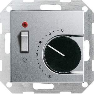 039226 Терморегулятор с размыкающим контактом. выключателем и контрольной лампой