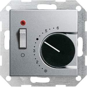039326 Терморегулятор с размыкающим контактом 24V/10 (4)A и контрольной лампой