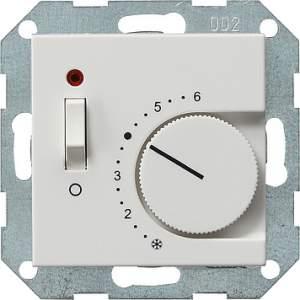 039327 Терморегулятор с размыкающим контактом 24V/10 (4)A и контрольной лампой