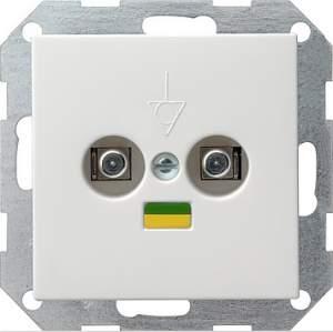 040503 Коробка выравнивания потенциалов со штепсельным штифтом DIN 42801. двойная