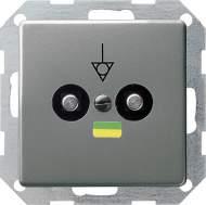 040520 Коробка выравнивания потенциалов со штепсельным штифтом DIN 42801. двойная