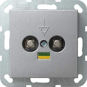 040526 Коробка выравнивания потенциалов со штепсельным штифтом DIN 42801. двойная