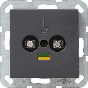 040528 Коробка выравнивания потенциалов со штепсельным штифтом DIN 42801. двойная