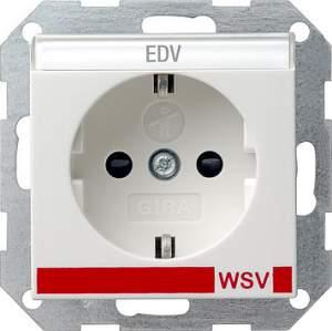 042103 Розетка с полем для надписи для WSV (дальнейшее обеспечение безопасности)