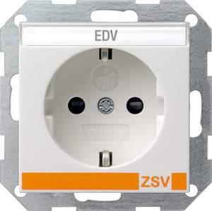 042727 Розетка с полем для надписи для ZSV (дополнительное обеспечение безопасности)