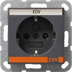 042728 Розетка с полем для надписи для ZSV (дополнительное обеспечение безопасности)