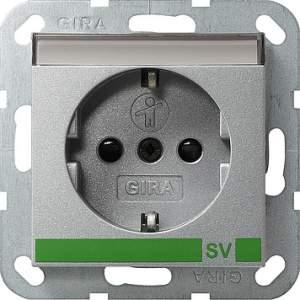 043826 Розетка с полем для надписи для SV (обеспечение безопасности)