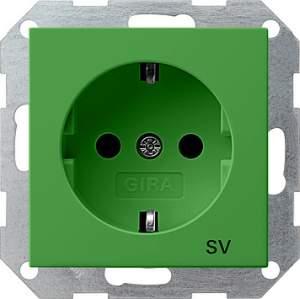 045502 Розетка с з/к для SV (обеспечение безопасности)