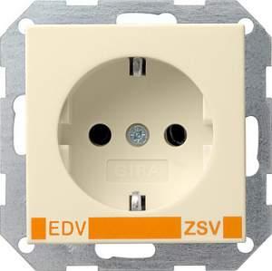 046401 Розет с з/к с надп EDV для ZSV (дополнительное обеспечение безопасности)