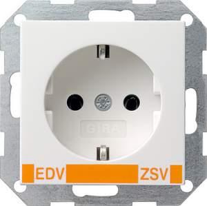 046427 Розет с з/к с надп EDV для ZSV (дополнительное обеспечение безопасности)