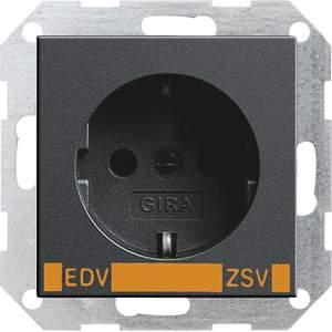 046428 Розет с з/к с надп EDV для ZSV (дополнительное обеспечение безопасности)