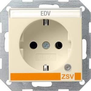 046901 Розетка с з/к и контрольной лампой и полем для надписи для ZSV (дополнительное обеспечение безопасно