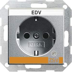 046926 Розетка с з/к и контрольной лампой и полем для надписи для ZSV (дополнительное обеспечение безопасно
