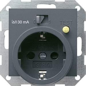 047728 Розетка с УЗО 30 мА ток утечки