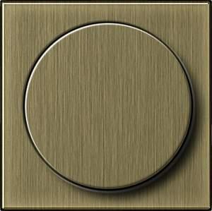 0650603 Накладка с поворотной кнопкой для светорегуляторов и эл. потенциометров