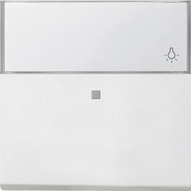 0670112 Одинарная клавиша с полем для надписи и подсветкой