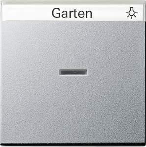 067026 Одинарная клавиша с полем для надписи и подсветкой