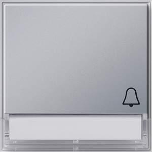 """067365 Клавиша с полем для надписи и символом """"звонок"""""""