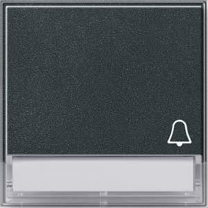 """067367 Клавиша с полем для надписи и символом """"звонок"""""""
