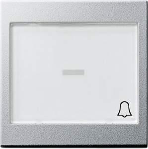 """067926 Клавиша с полем для надписи 37*47 мм и символом """"звонок"""""""