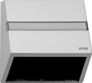 068265 Накладка для приборов с квадратной центральной панелью и наклонным выходом